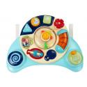Interaktywny Panel Zabawka dla Niemowląt Muzyka Odgłosy Zwierząt Niebieska