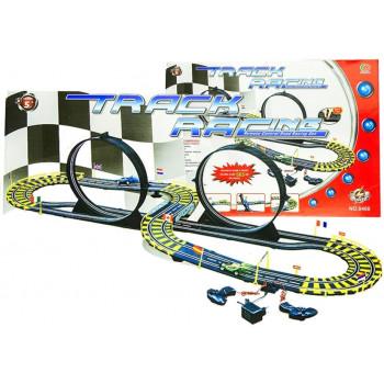Tor samochodowy Track Racing + 2 auta 565 cm