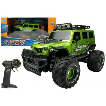 Auto Zdalnie Sterowane R/C Jeep Zielony 2.4G