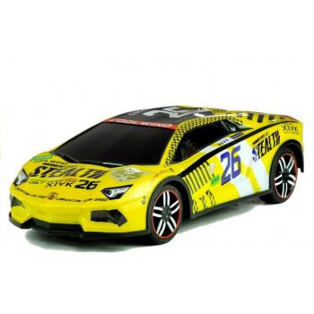 Auto Zdalnie Sterowane Sportowe Pilot R/C Żółte