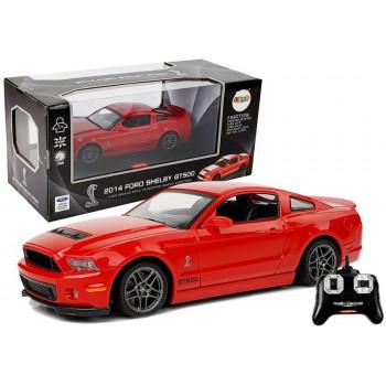 Auto Zdalnie Sterowane Ford Shelby GT500 Czerwony 7.5 km/h 2.4 G