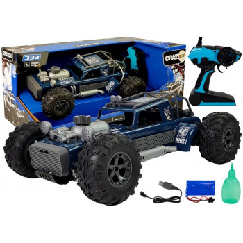 Auto Buggy Zdalnie Sterowany 1:12 2.4G Zielony 20 km/h Para Wodna