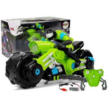 Motor Drift Zdalnie Sterowany Zielony 1:10 2,4 G