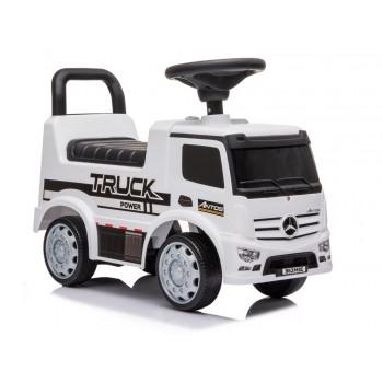 Jeździk Mercedes Antos 656 Biały Dźwięk Klakson Reflektory Światła