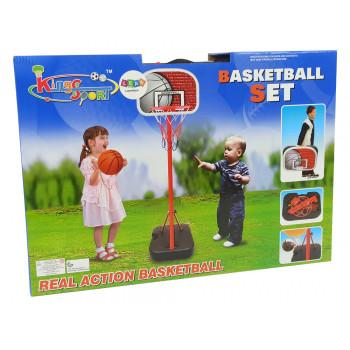 Kosz Do Koszykówki Dla Dzieci Kosz Piłka 166 cm