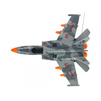 Samolot Wojskowy MIG-25 Zdalnie Sterowany Pilot 40 Mhz