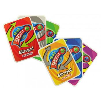Gra Zręcznościowa Wyrzutnia Piłek Karty Piłka Nożna Punkty