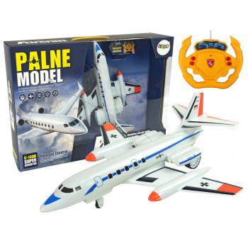 Zdalnie Sterowany Samolot Pasażerski Światła 40 Mhz Pilot