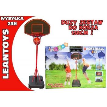 Duży Zestaw do Koszykówki + Piłka 150 CM