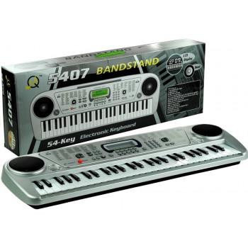 Keyboard MQ5407 Organy 54 Klawisze LCD Ładowarka