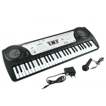 Multifunkcyjny Duży Keyboard 54 Klawisze LED
