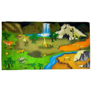 Mata na podłogę Farma Dywan z Dinozaurami