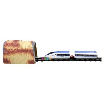 Pociąg Ekspresowy Tor ze Stacją i Tunelem