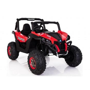 Auto Na Akumulator Jeep XMX603 Czerwony