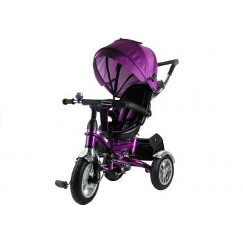 Rower Trójkołowy PRO500 Fioletowy