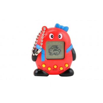 Elektroniczne Zwierzątko Tamagotchi z Kokardką Czerwone