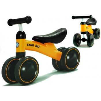Rower Biegowy Yang Kai Zółty Dla Dzieci Biegówka