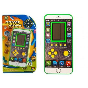 Gra elektroniczna Tetris Komórka Zielona