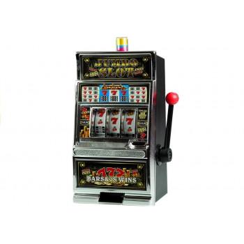 Automat do Gry Slot Kasyno Skarbonka Duża Dźwięki