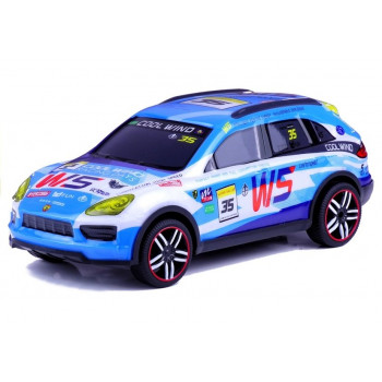 Auto Zdalnie Sterowane Sportowe Pilot R/C Błękitne