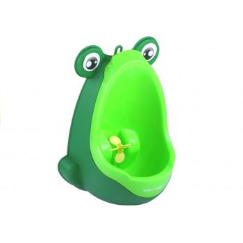 Mini Pisuar Żabka Na Przyssawki Chłopięcy Zielony