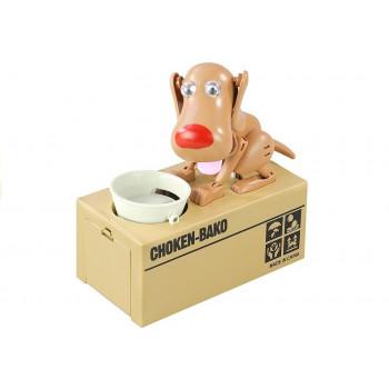 Skarbonka Pies Zjadający Monety Pieniądze Karmel