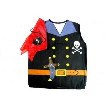 Strój Pirat Przebranie Kostium Dla Dzieci