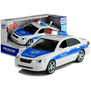 Samochód Policyjny Jeździ Świeci Gra 1:16