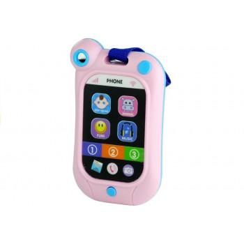 Telefon Dotykowa Komórka Dla Malucha Dźwięki Róż