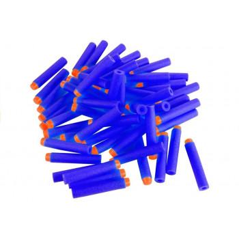 Piankowe Naboje Strzałki Miękkie Nerf 59 Niebieski