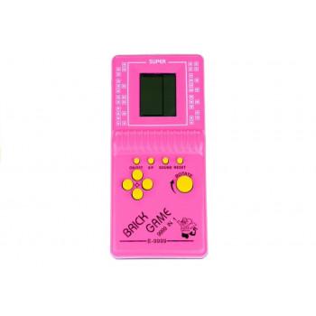 Gra Elektroniczna Tetris Kieszonkowa Różowa
