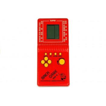 Gra Elektroniczna Tetris Kieszonkowa Czerwona